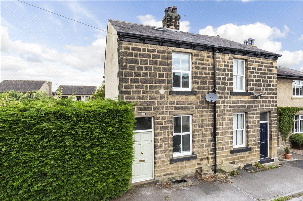 3 Bedrooms End Of Terrace House for sale in North Parade, Burley in Wharfedale, Ilkley, West Yorkshire