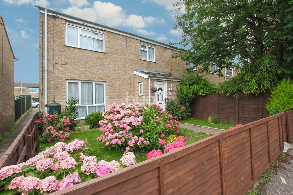 3 Bedrooms End Of Terrace House for sale in Canterbury Way, St Nicholas, Stevenage