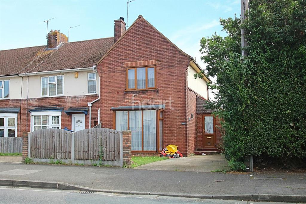 2 Bedrooms End Of Terrace House for sale in St Georges Avenue, Sheerness
