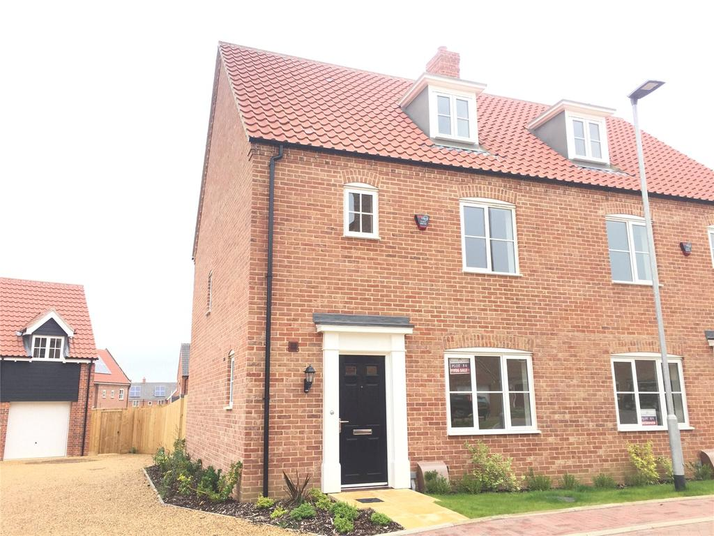 3 Bedrooms Semi Detached House for sale in Plot 86 Staithe Place, Fakenham Road, Wells-next-the-Sea, Norfolk, NR23