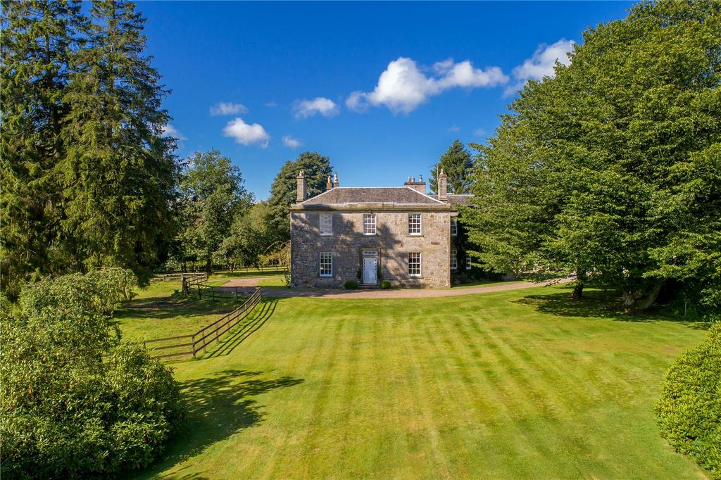 8 Bedrooms Equestrian Facility Character Property for sale in Tillyochie House, Kinross, KY13