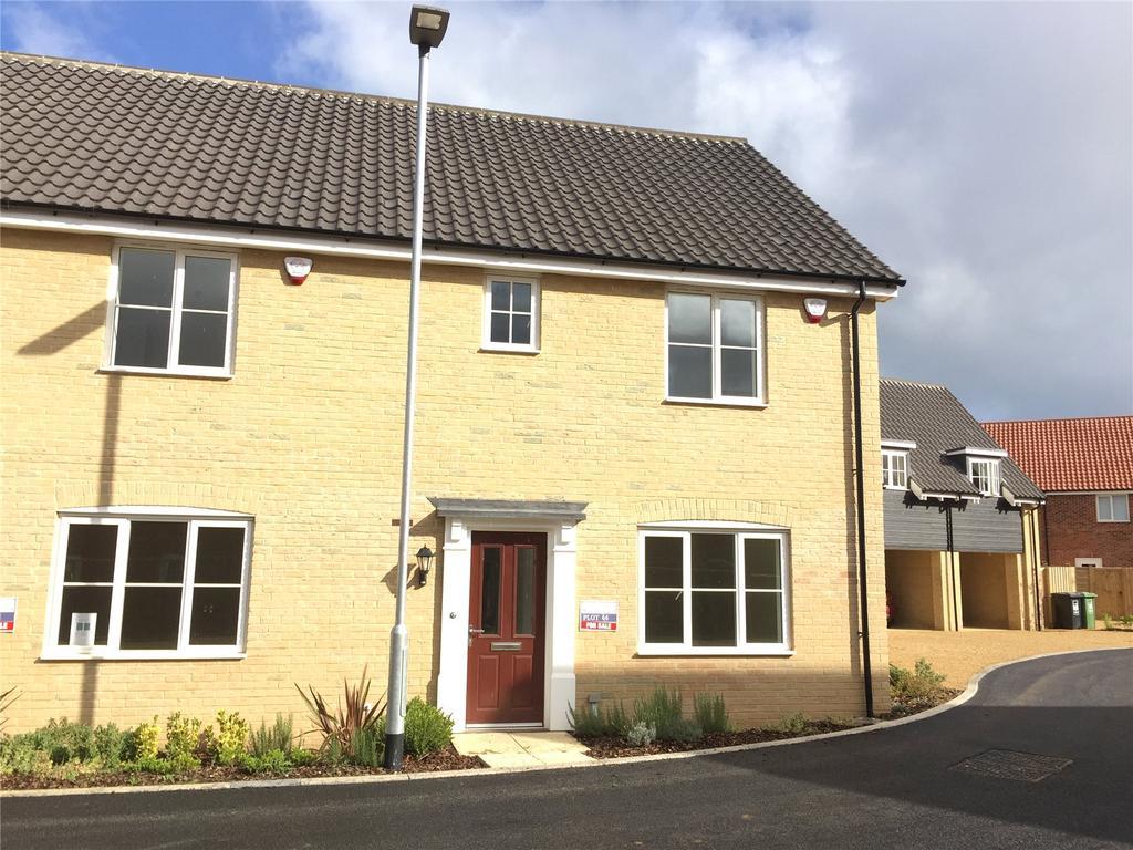 3 Bedrooms End Of Terrace House for sale in Plot 66 Broadbeach Gardens, Stalham, Norfolk, NR12