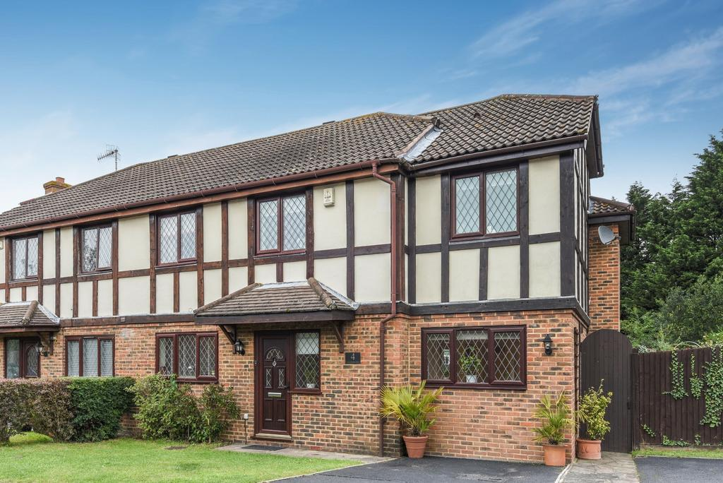 4 Bedrooms Semi Detached House for sale in Long Meadow Close West Wickham BR4