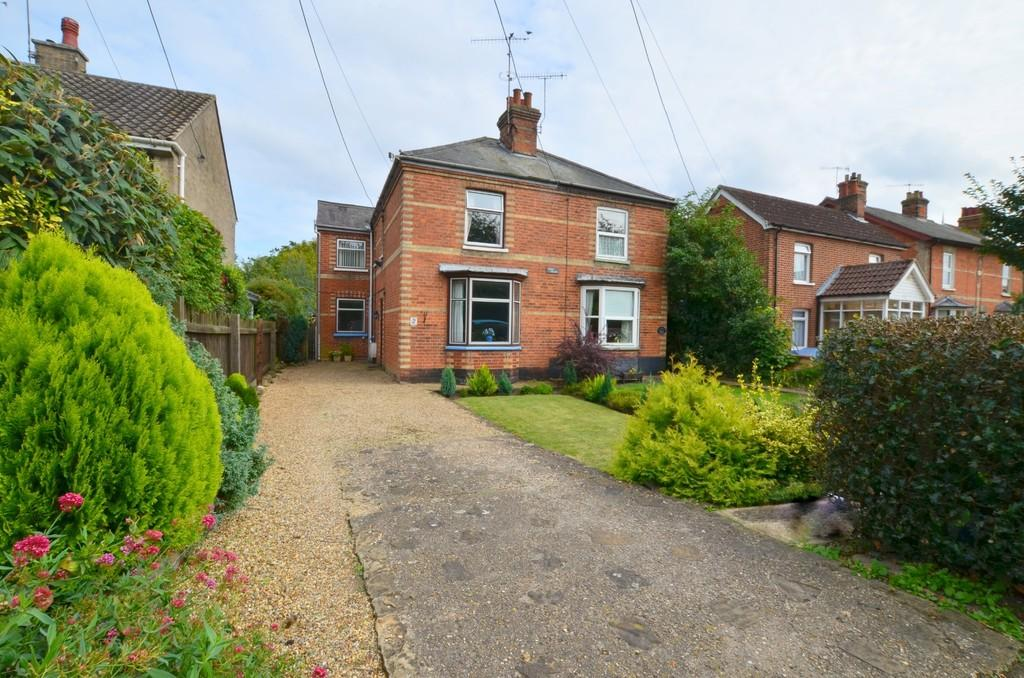 3 Bedrooms Semi Detached House for sale in Melton Road, Melton, Woodbridge, IP12 1PD