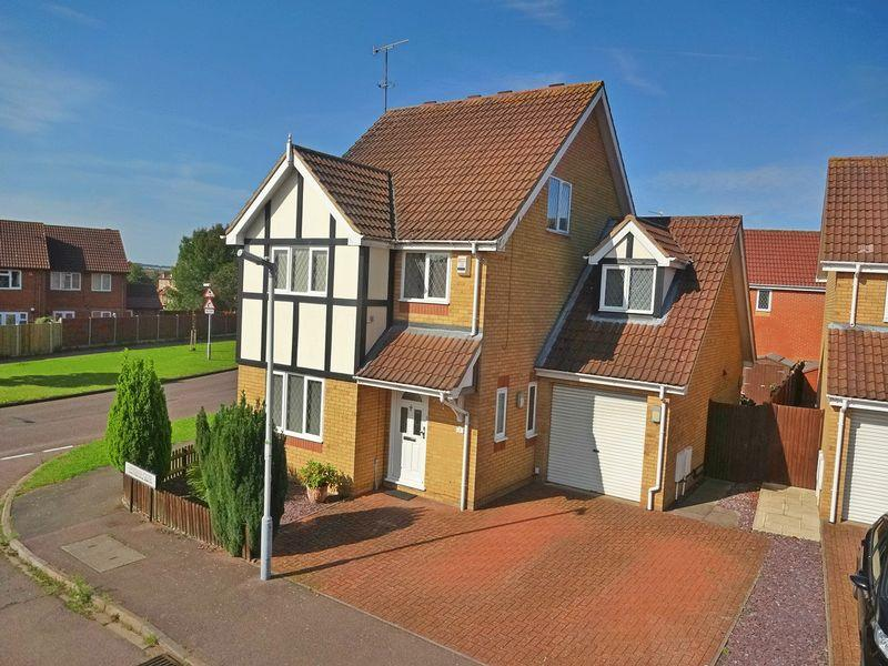 5 Bedrooms Detached House for sale in Wiseman Close, Luton