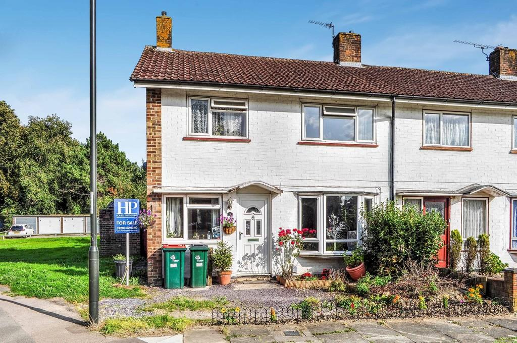 3 Bedrooms End Of Terrace House for sale in Midhurst Close, Ifield