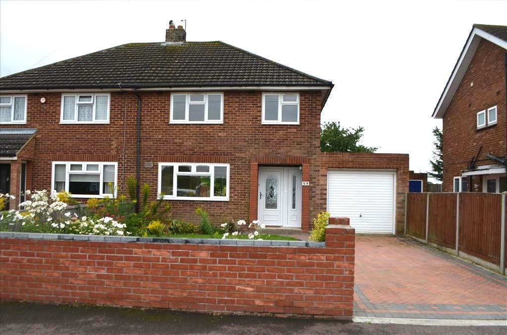 3 Bedrooms Semi Detached House for sale in Boddington Gardens, Biggleswade, SG18