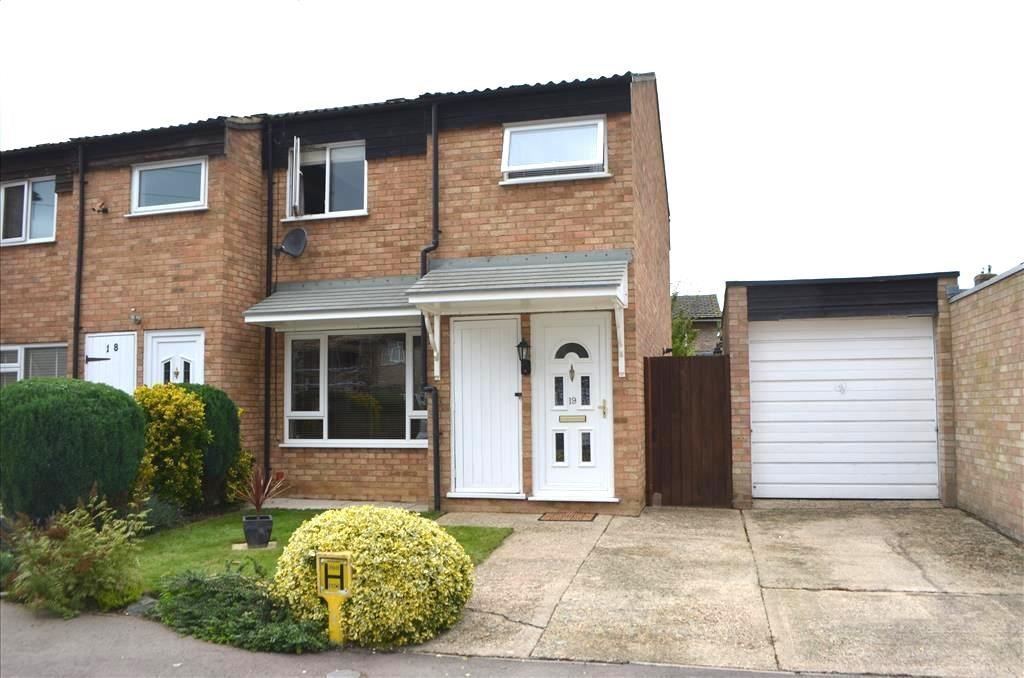3 Bedrooms End Of Terrace House for sale in Aldgate Close, Potton, Bedfordshire, SG19