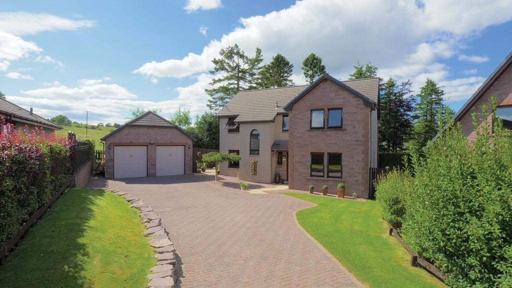5 Bedrooms Detached House for sale in Scott Brae, Kippen, Stirling, FK8 3DL