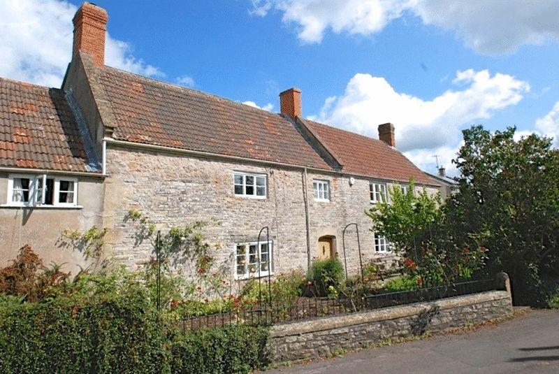4 Bedrooms Detached House for sale in Wookey, West of Wells, Somerset