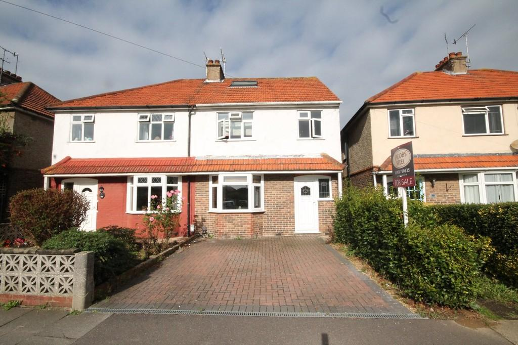 4 Bedrooms Semi Detached House for sale in First Avenue, Lancing