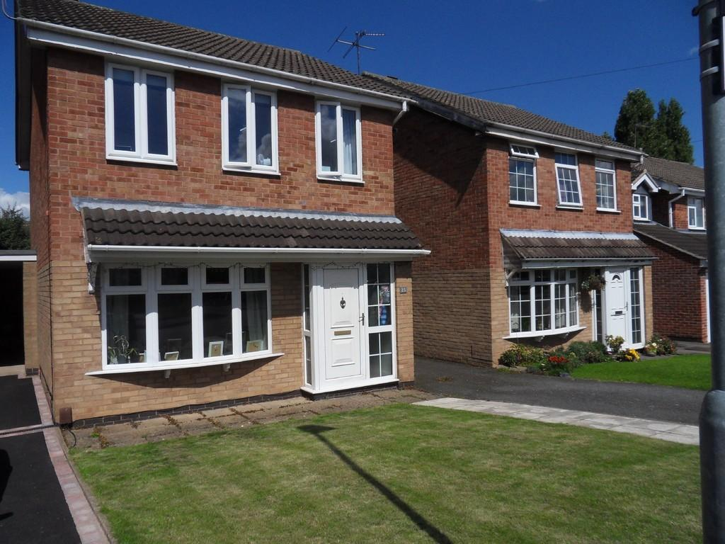 3 Bedrooms Detached House for sale in High Meadow, Hathern