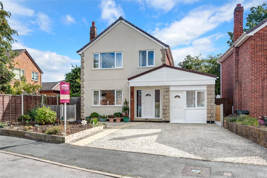 3 Bedrooms Detached House for sale in Hazelwells Road, Highley, Bridgnorth, Shropshire