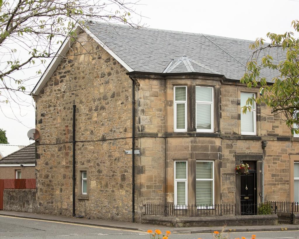 4 Bedrooms Terraced House for sale in Glasgow Road, Denny, Falkirk, FK6 6BA