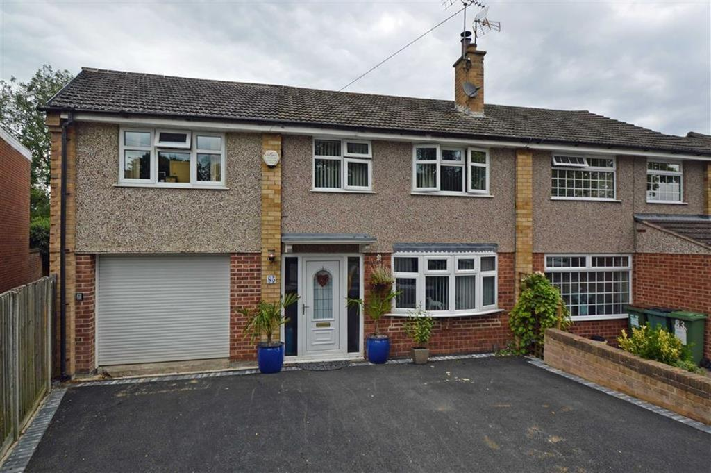 5 Bedrooms Semi Detached House for sale in Beechwood Avenue, Leicester Forest East