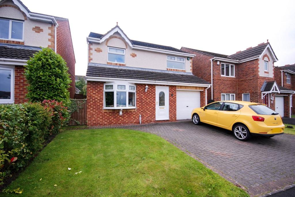 3 Bedrooms Detached House for sale in The Meadows, Burnopfield