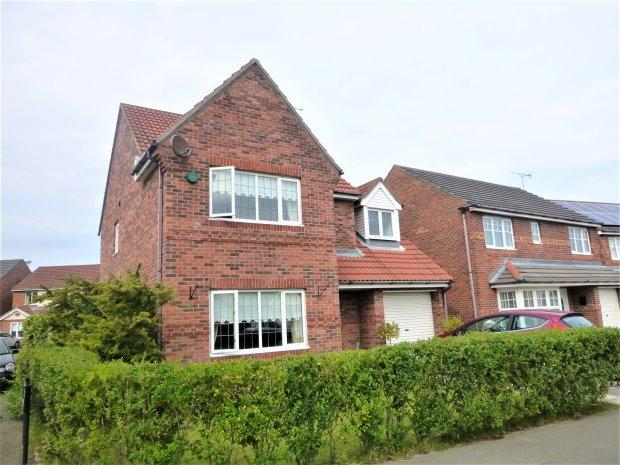 4 Bedrooms Detached House for sale in HIGHCLERE DRIVE, TUNSTALL GRANGE, SUNDERLAND SOUTH