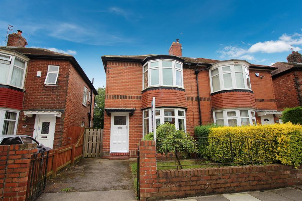 2 Bedrooms Semi Detached House for sale in Park Avenue, Gosforth