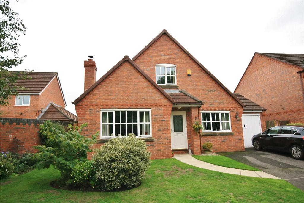 4 Bedrooms Detached House for sale in Dunnillow Field, Stapeley, Nantwich, Cheshire, CW5