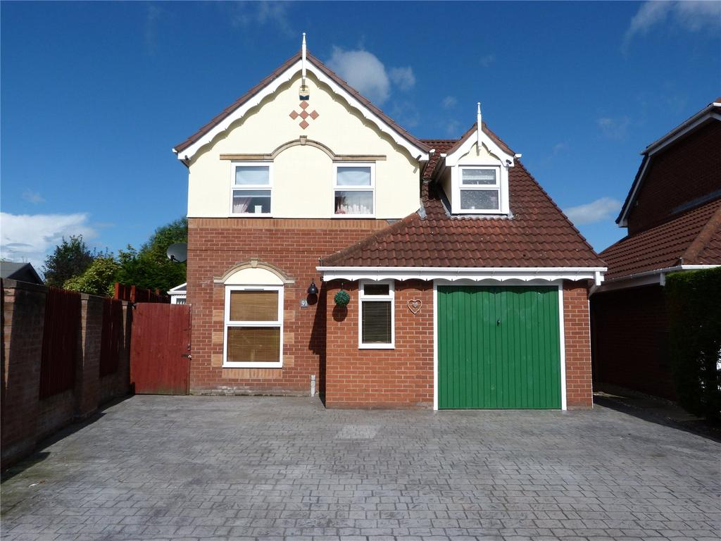 3 Bedrooms Detached House for sale in Lambourn Drive, Leighton, Crewe, Cheshire, CW1