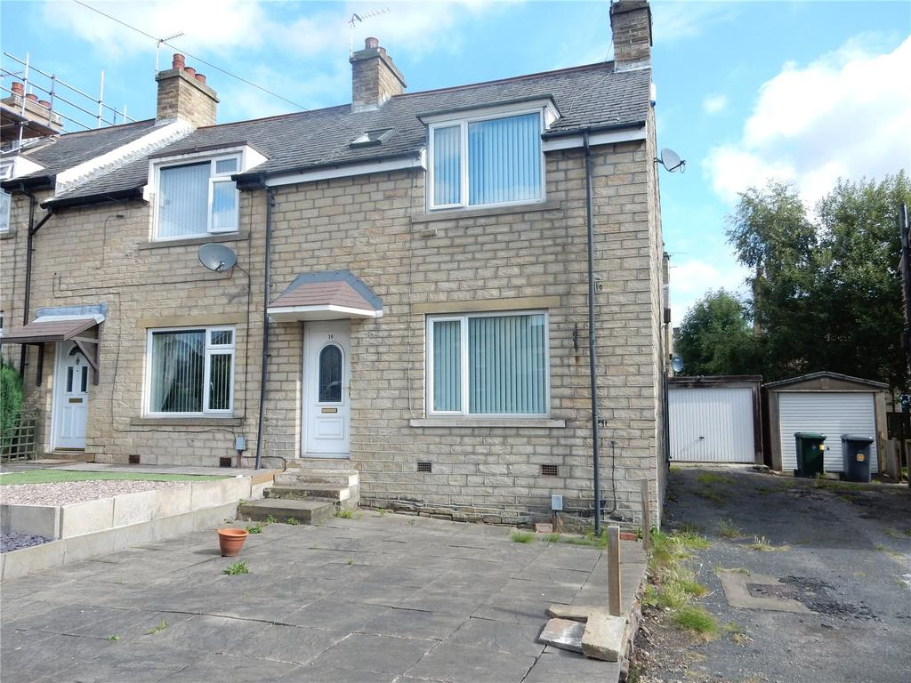 3 Bedrooms End Of Terrace House for sale in Quarmby Road, Quarmby, Huddersfield, HD3