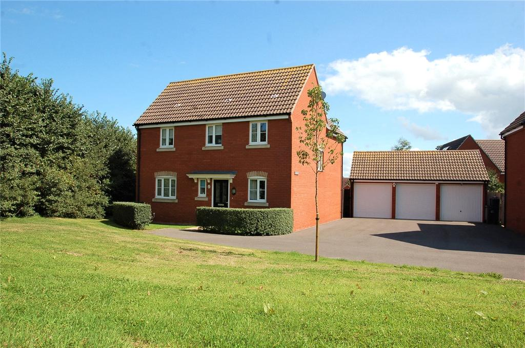 4 Bedrooms Detached House for sale in Primrose Walk, Wilstock Village, North Petherton, Somerset, TA5