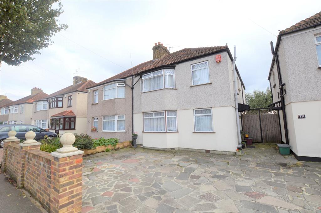 4 Bedrooms Semi Detached House for sale in Westbrooke Road, Welling, Kent, DA16