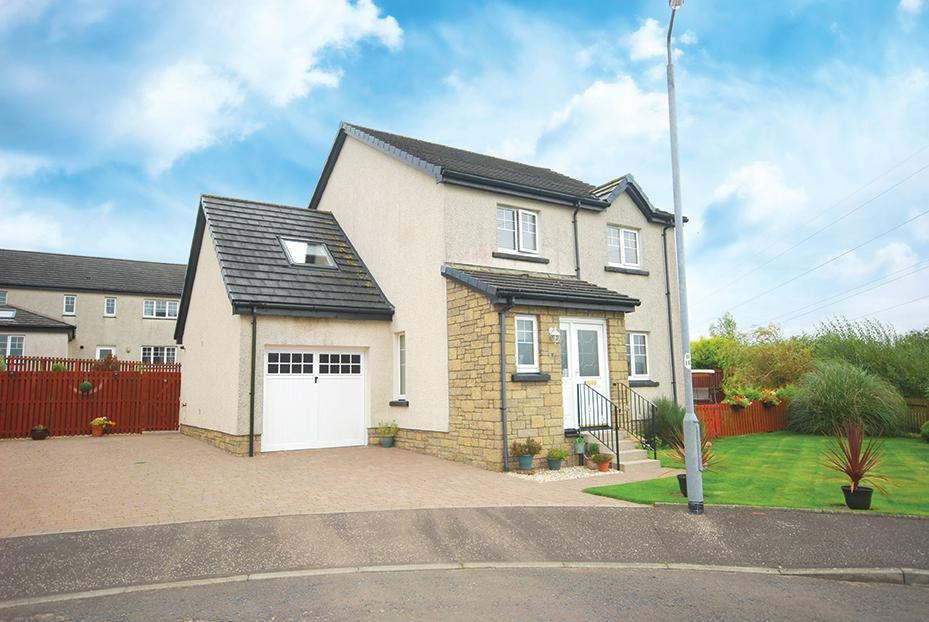 4 Bedrooms Detached Villa House for sale in 7 Lomond View, Drongan, KA6 7BS