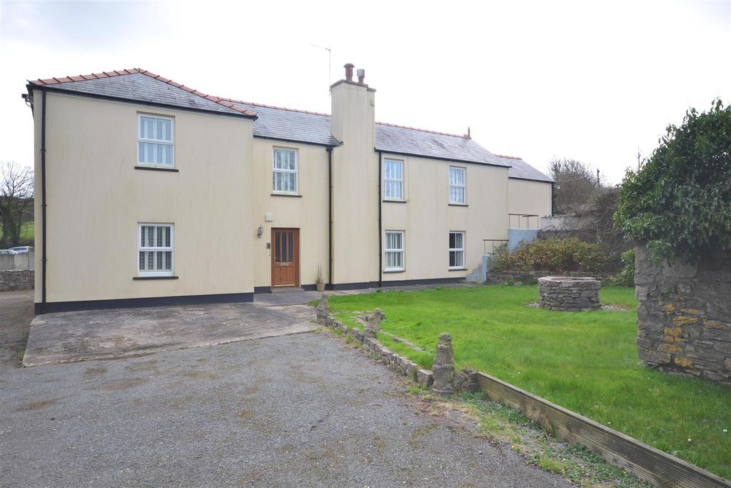 4 Bedrooms Land Commercial for sale in West Grove, Hundleton, Pembrokeshire