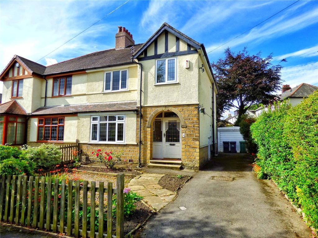 3 Bedrooms Semi Detached House for sale in Howard Avenue, Lindley, Huddersfield, HD3