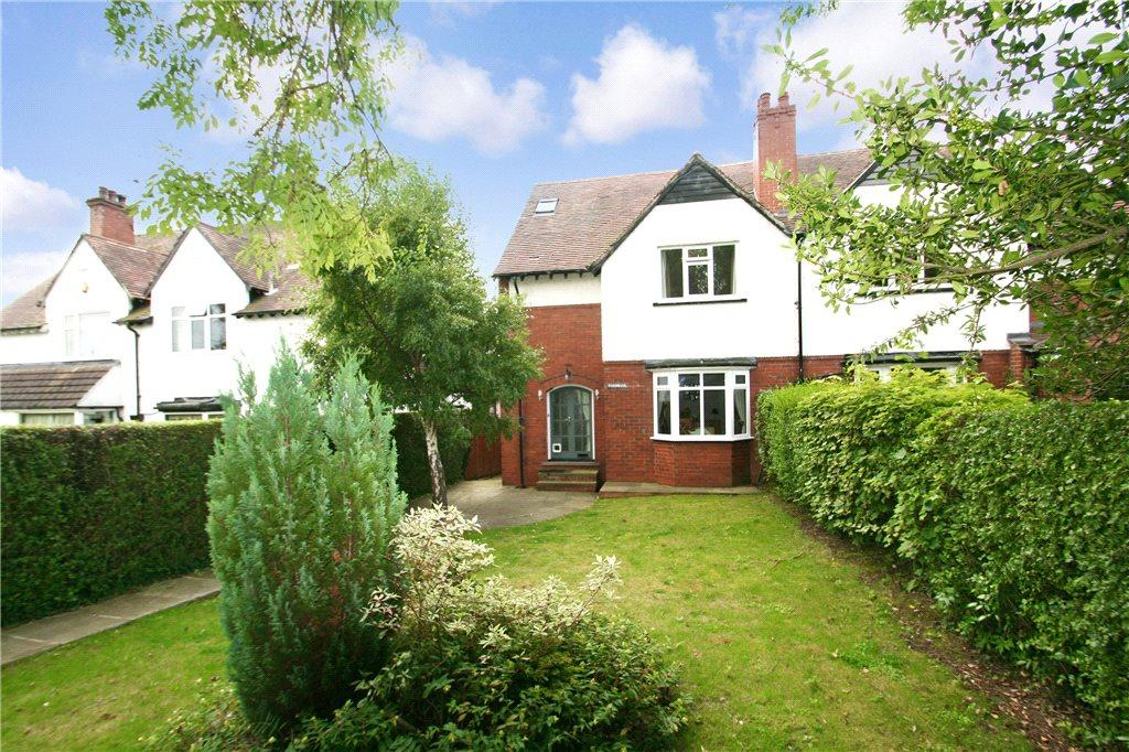 4 Bedrooms Semi Detached House for sale in Harewood Road, Collingham, West Yorkshire