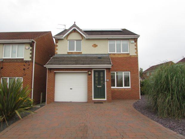 3 Bedrooms Detached House for sale in CLOVER COURT, SPENNYMOOR, SPENNYMOOR DISTRICT