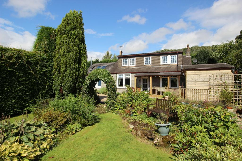3 Bedrooms Detached House for sale in Hillview Cottage Glasgow Road, Hardgate, G81 5PQ