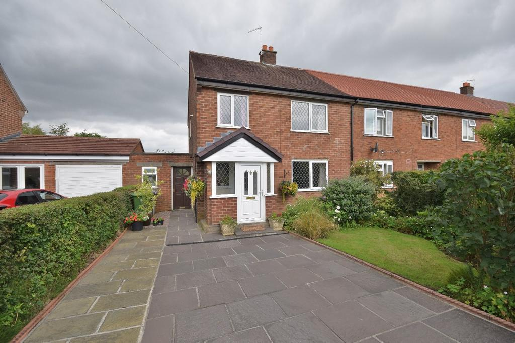 3 Bedrooms End Of Terrace House for sale in Distaff Road, Poynton