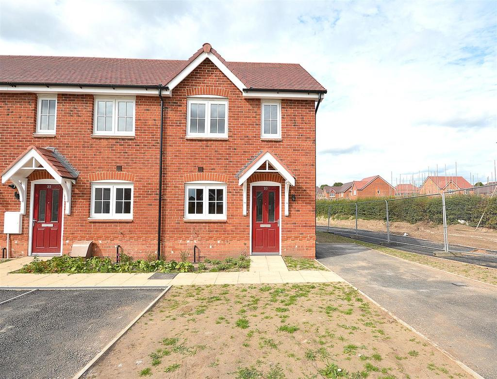 2 Bedrooms End Of Terrace House for sale in Glebe Road, Sandbach