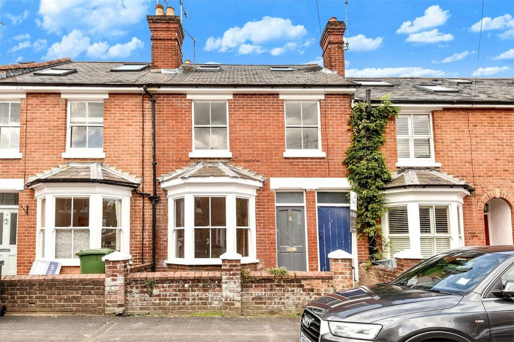 4 Bedrooms Terraced House for sale in Fulflood, Winchester, Hampshire
