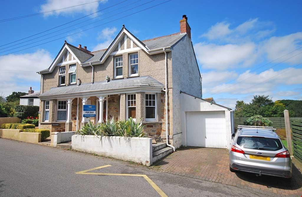 2 Bedrooms Semi Detached House for sale in Perranwell Station, Nr. Truro, Cornwall, TR3