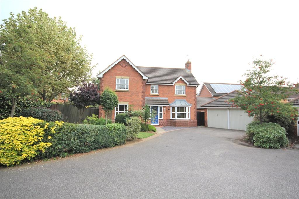 4 Bedrooms Detached House for sale in Milton Way, Sleaford, NG34
