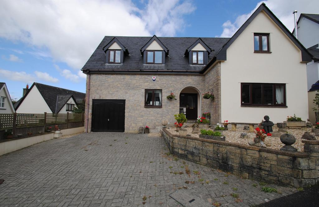 5 Bedrooms Detached House for sale in Fairways Drive, High Bickington