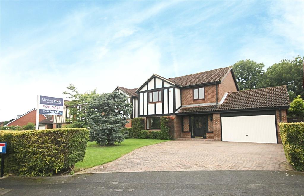 4 Bedrooms Detached House for sale in Ashridge Close, Ingleby Barwick