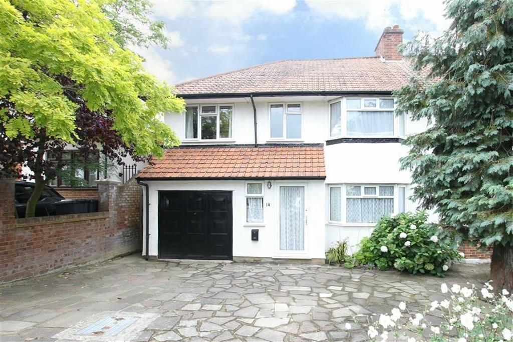5 Bedrooms Semi Detached House for sale in Lawrence Avenue, Mill Hill, London