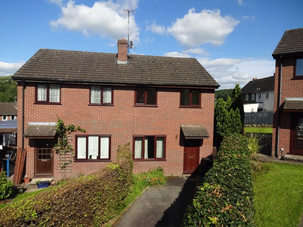 2 Bedrooms Semi Detached House for sale in Ffordd Newydd, Bettws Cedewain, Newtown, Powys