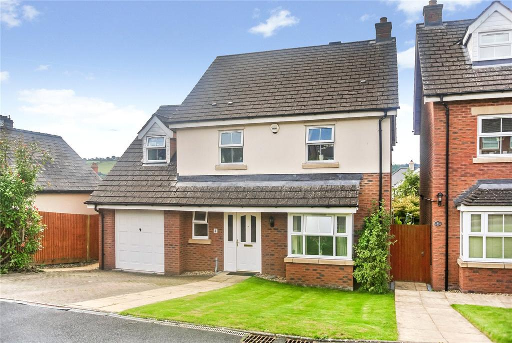 4 Bedrooms Detached House for sale in School Gardens, Brecon, Powys