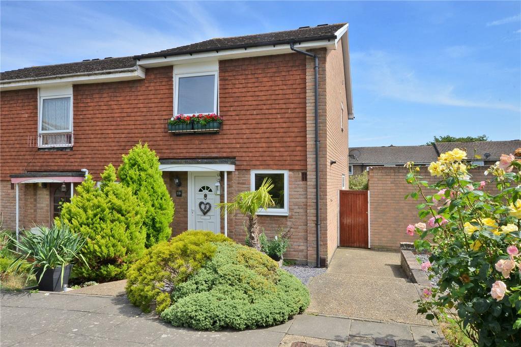 3 Bedrooms End Of Terrace House for sale in Handside Close, Worcester Park, KT4