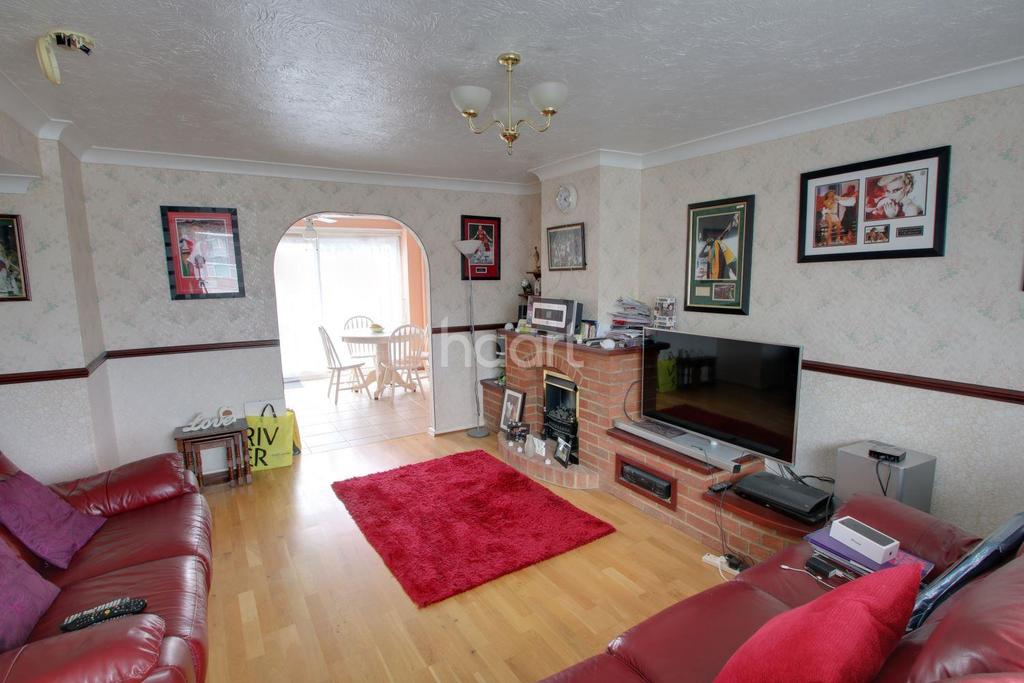 3 Bedrooms Terraced House for sale in Ballards Walk, Basildon