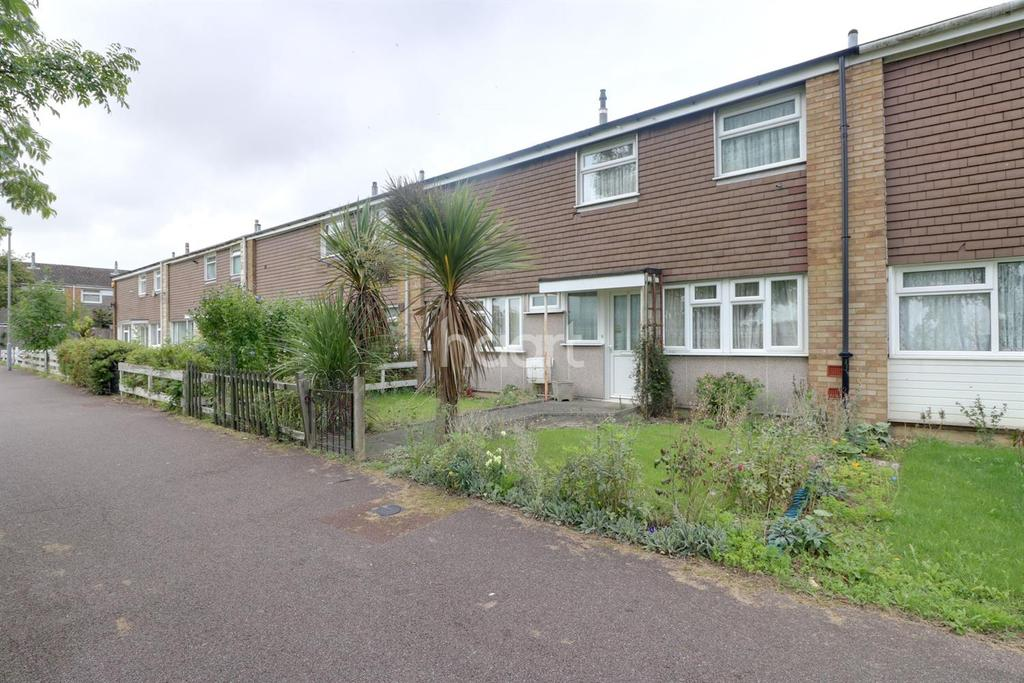 3 Bedrooms Terraced House for sale in Thrales Close, LU3