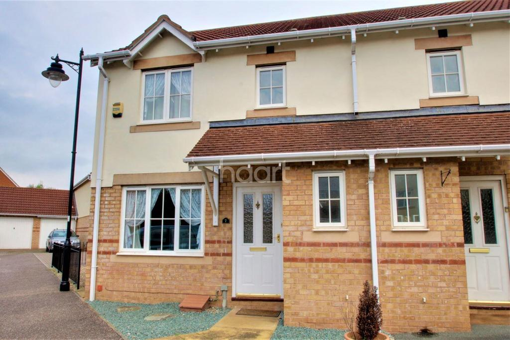 3 Bedrooms Semi Detached House for sale in The Shaulders, Nerrols Farm