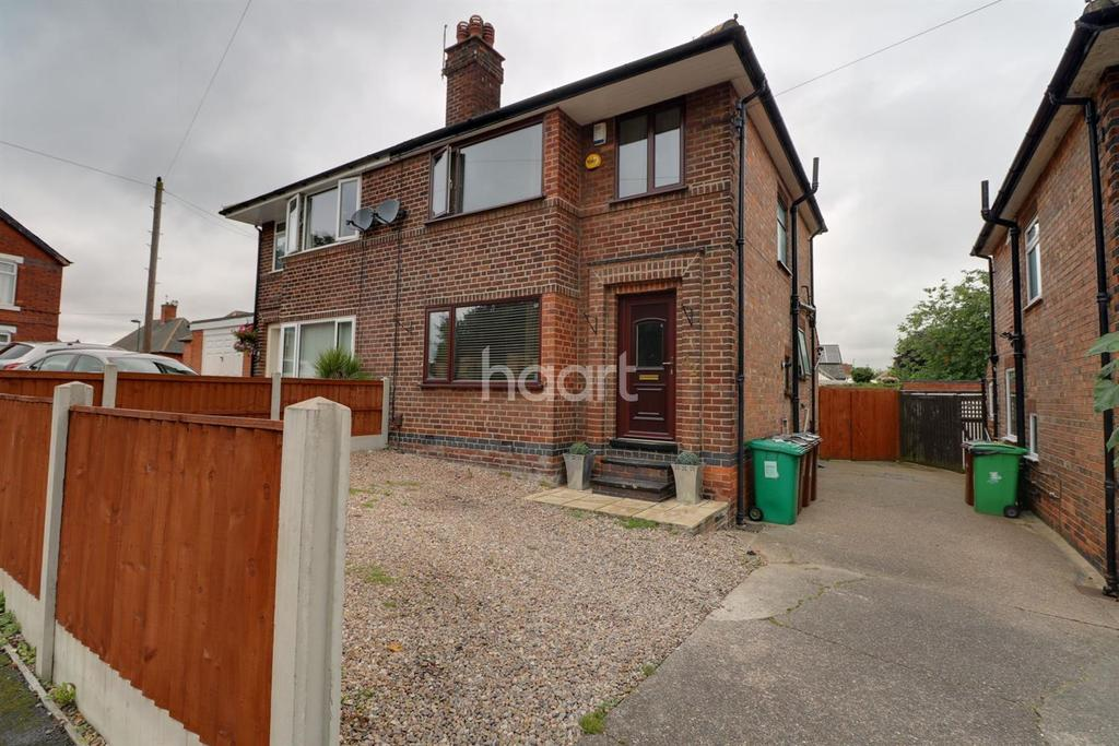 3 Bedrooms Semi Detached House for sale in Tewkesbury Drive, Basford