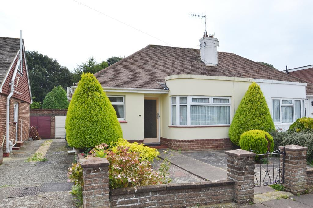 2 Bedrooms Semi Detached Bungalow for sale in Clarendon Road, Worthing, West Sussex, BN14 8QQ