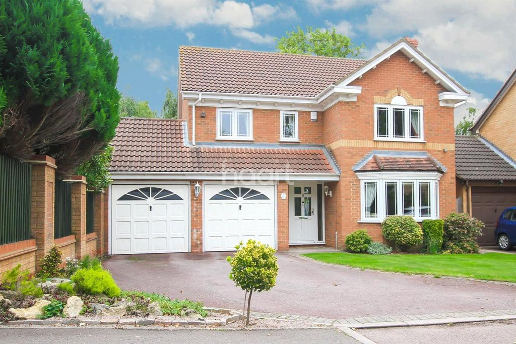 4 Bedrooms Detached House for sale in Whitley Close, Abbots Langley WD5